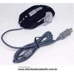 Kit Teclado E Mouse Gamer Com Fio Jp-133 Top