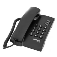 Telefone Intelbras Pleno Preto original com nota fiscal