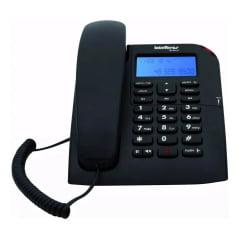 Telefone Intelbras Tc 60 Id Preto original com nota e garantia