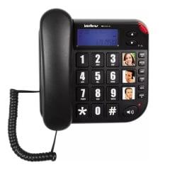 Telefone Intelbras Tok Facil Id original com nota fiscal