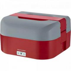 Aquecedor de Alimentos 1,6L 60W Bivolt CE136 Vermelha/Cinza MULTILASER