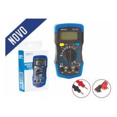 Multímetro Digital Profissional Portátil Suporte Bateria