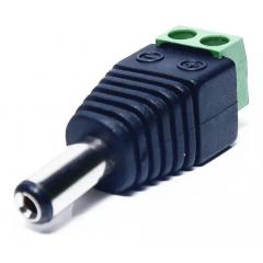 Conector P4 Macho Com Borne Para Câmera Barato