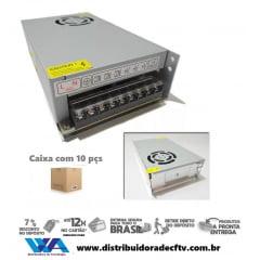 Fonte Bilvot 110 220v 12v 20a Amperes Estabilizada Led Cftv - Atacado - Caixa com 10 pçs
