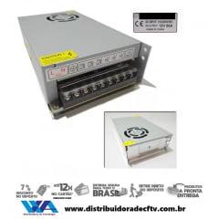 Fonte Chaveada Estabilizada 12v 50 Amperes Bi-volt