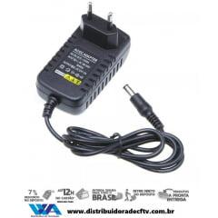 Kit Fonte 12v 2 Amperes - Plasticos Conector P4 100% - Atacado - Caixa 10 Pçs