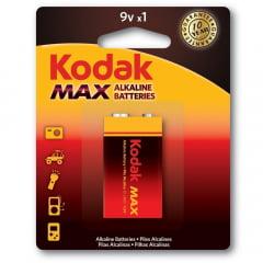 Bateria 9 volts Kodak Alcalina max