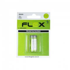Pilha Alcalina Flexgold - com 2 unidades AAAA