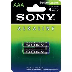Pilha sony alcalina AAA AM4L-B2D blister com 2 unidades