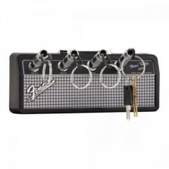Porta Chaves Mini Amplificador Jack Rack Preto FENDER