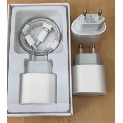 carregador iPhone 11pro max 12 pro max 20w usb-c power adapter usb -c to lightning cable