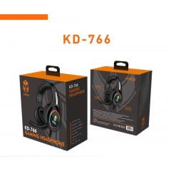 Fone De Ouvido Gamer Headset Kaid Kd 766 P2 Usb