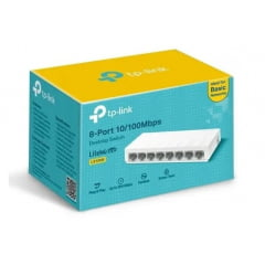 Switch Mesa Tp-link Ls1008 8 Portas 10/100mbps