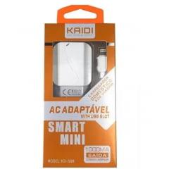 Kit Carregador de celular Com Cabo Iphone 1 m Kaidi Kd-508A Original