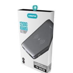 Power Bank Carregador Digital 12000mah E01ch Fast Charge Kimaster