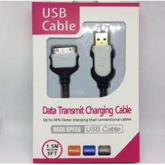 CABO USB PARA IPHONE 3/4/4S / IPAD 3