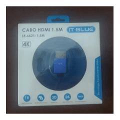 CABO HDMI IT-BLUE 4K 1,5M LE-6621