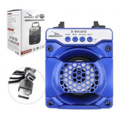 CAIXA DE SOM GRASEP 10W D-BH1050 BLUETOOTH/USB/FM