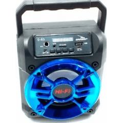 CAIXA DE SOM GRASEP 10W D-S3 BLUETOOTH/USB/FM