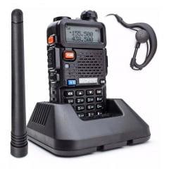 Rádio comunicador Ht Dual Band Uhf + Vhf Baofeng Uv-5r Portátil