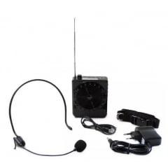 Amplificador Megafone Microfone Kit Completo Professores