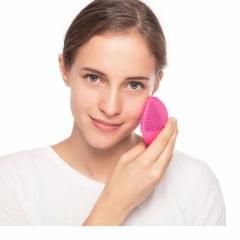 Esponja de Limpeza e Massageadora Facial