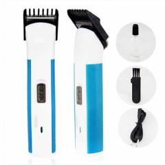 Máquina de Cortar Cabelos Aparador pelos Barba Nova Li +PRO - LY-3909