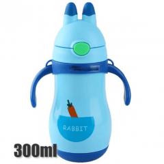 Mini Garrafa Térmica 300ml rabbit - Cores Sortidas