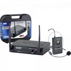 Microfone Sem Fio Headset DVS100SH VOKAL
