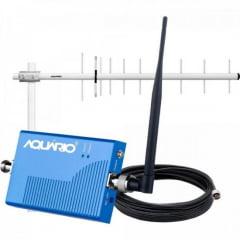 Kit Mini Repetidor de Sinal para Celular 800MHZ RP860 AQUÁRIO