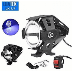 FAROL LED P/ MOTO LUATEK LK-U7