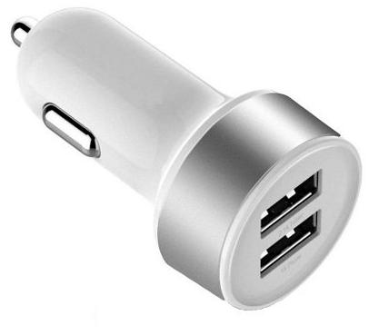 CARREGADOR USB VEICULAR 2 SAÍDAS